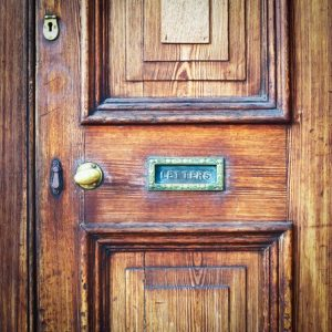 social media is like your business' front door