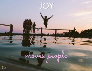 The 4 Basic Emotions: Joy moves people.