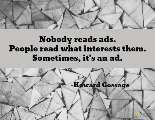 Storytelling in online advertising.