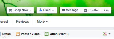 facebook update to business pages