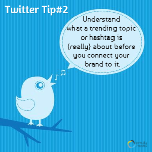 How to use twitter for business tip 2