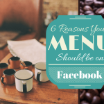 menu on facebook