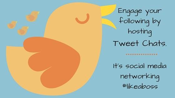 social media - tweet chats