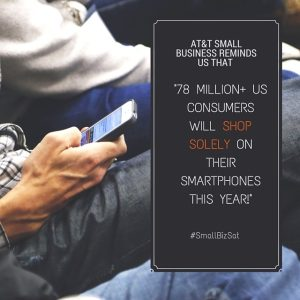 small business saturday shop mobile