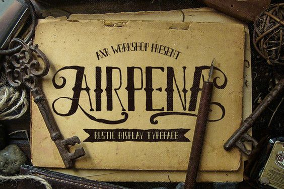 retro font web design trends in 2016