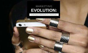 marketing evolution - 3 infographichs