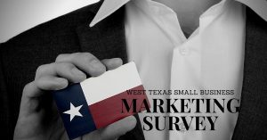west texas small business marketing survey