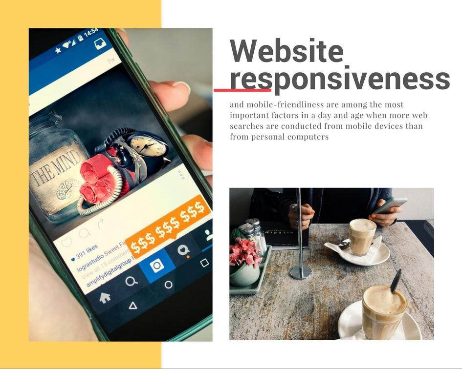web design trends in 2017 website responsiveness