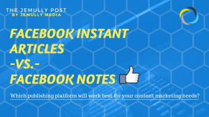 facebook instant articles and notes