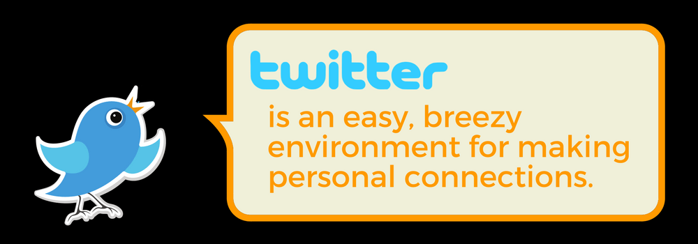 What Is Twitter? Twitter make building personal connections easy and breezy.
