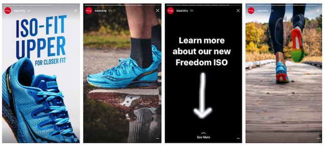 new Instagram tools swipe up links