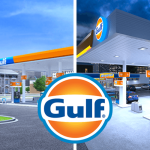 New Gulf image is refreshed with brighter versions of classic color and friendlier typeface