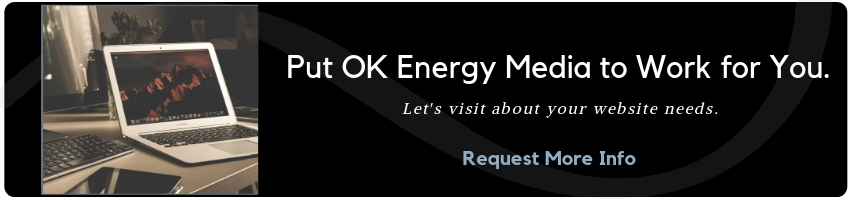 Put OK EM to work for you with a new website.